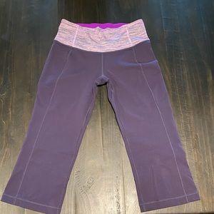 Lululemon purple Capri pants